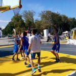 игра на баскетбол