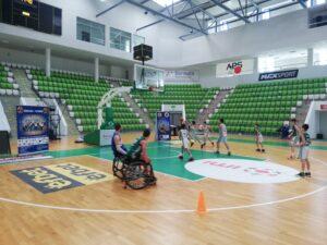 Представяне на адаптирания баскетбол